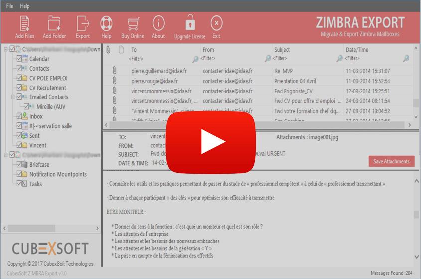 Zimbra Mail Converter to Convert Zimbra Emails to PST, PDF, MBOX